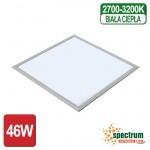 Panel Led Algine Spectrum 46W  600X600Mm Ciepły